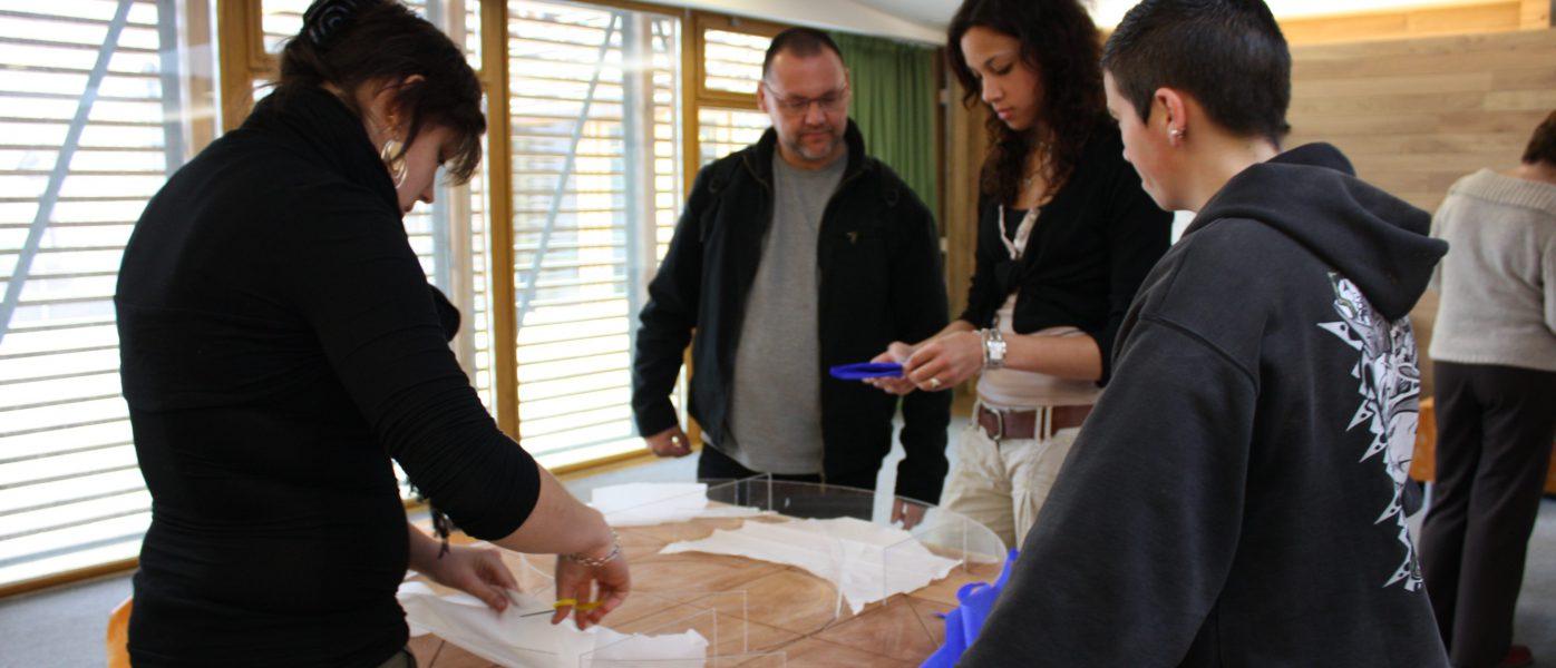 ateliers collèges - maquettes