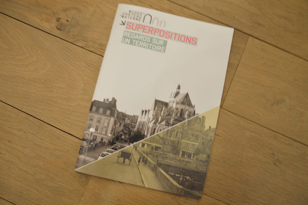 Catalogue de l'exposition Superpositions, regards sur un territoire